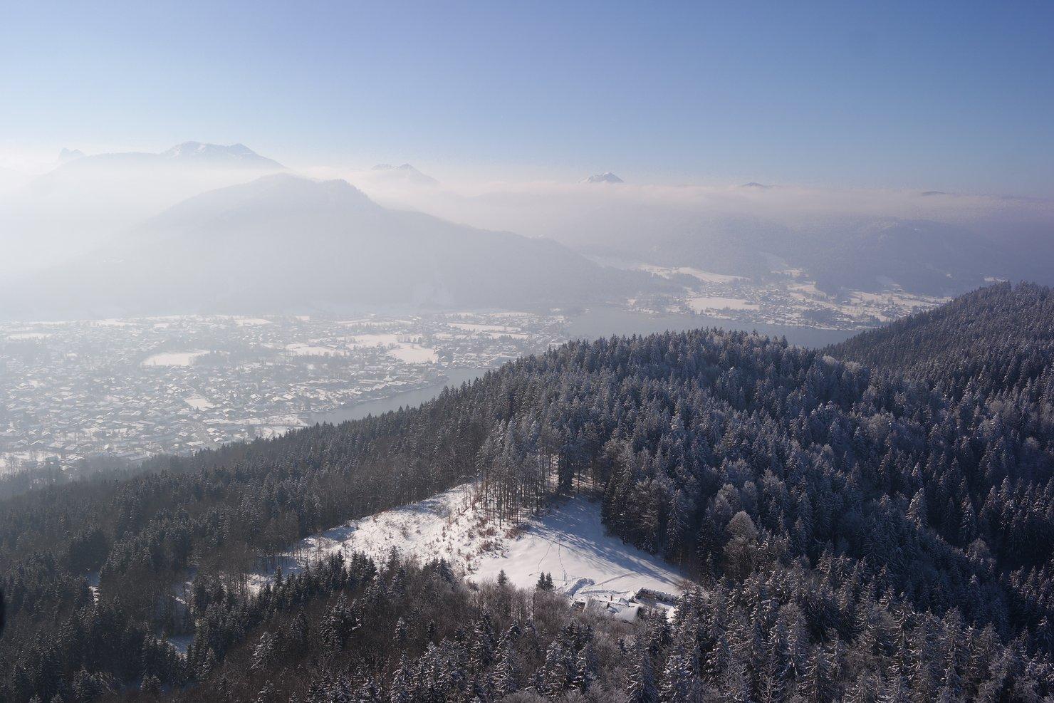 Wintermärchen – Winterwanderung zur Kapelle am Riederstein